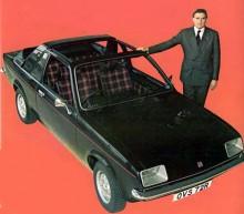 Detta är en Vauxhall Chevette Aero 1977, som bara förblev en prototyp, kanske man insåg att det engelska klimatet inte skulle leda till några försäljningsframgångar?