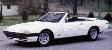 400i gör sig bra som cabriolet, dock byggde aldrig Ferrari någon sådan utan en del konverterades av Straman i USA