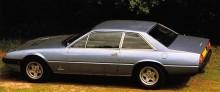 1982 Ferrari 400GT, med denna modell hade bakljusen reducerats till två per sida.