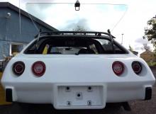den konvexa bakpartiet som Corvette fick från 1974 års modell gör dessa inte särskilt populära bland Corvette-entusiaster, men på Sportwagon gör det sig helrätt.