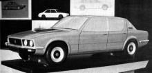 Rover P10 från Michelotti, kvartskalemodell