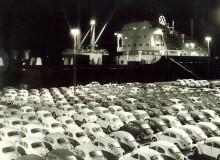 Från Brasilien exporterades också en stor del av VW-produktionen