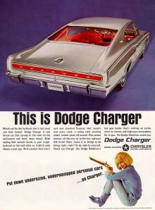 Join the Dodge Rebellion var slogan för 1966