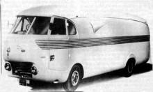 """Pegaso Z401 """"Bacalao"""" visad 1952"""