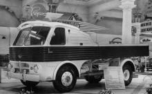 Den futuristiska Pegaso Z207 1955