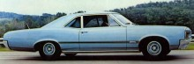 1966 Pontiac Tempest Sprint 2 door