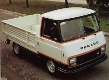 Pegaso J4 1980, som var en Peugeot, som var en Dodge, som var en Commer som var en Karrier.. leden blev många när firmor köptes upp av varandra.