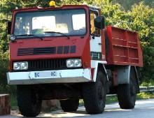 Uro modelo F 1984, fristående bolag specialserade på brandbilar och militärfordon.