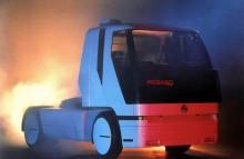 1Trots att Pegaso var på fallrepet, så visade man ändå den radikala concepttrucken Solo 500 1989.
