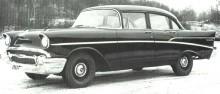 """""""Plain Jane"""" kallas sådana här hemma i USA, snikbil säger vi. USA-bilar var relativt dyra här så oftast såldes de på detta vis, enda eftergiften var värmepaket som inte ens det var standard i Amerika."""