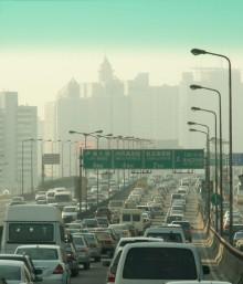 Trafik i Shanghai