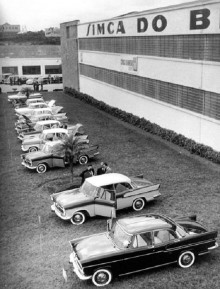 Simca do brasil preimär för Chambord 1959