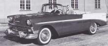 denna fina Chevrolet Bel Air skall enligt uppgift varit lackerad i Sherwood Green ich India Ivory.