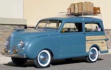 1948 Crosley wagon var den första stationsvagen med hel stålkaross