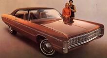 Först hette den Fury Gran coupe, här 1971
