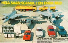 SAAB-familjen samlad 1970