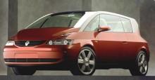 Avantime concept som den såg ut 1999, inte mycket ändrades när den kom i produktion.