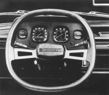 Austin Allegro licenstillverkades även i Italien, där den hette Innocenti Regent och fick då också ärva den fyrkantiga ratten.