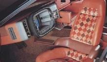 """Bertona Mazda MX-81 Aria 1981 med sitt """"styrband"""" eller vad man skall kalla det"""