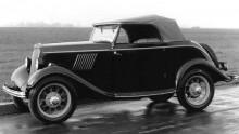 """model Y """"Köln"""" med roadsterkaross från Karl Deutch"""