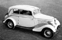 1934 Ford Rheinland cabriolet, karosseri från Drauz