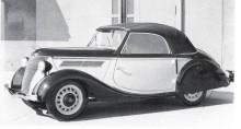1936 Ford Eifel cabriolet av  Deutch
