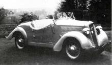 Ford Eifel roadster, Hebmüller 1936