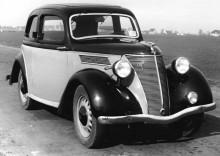 Redan 1936 fick Ford Eifel en helt ny amerikainspirerad kaross