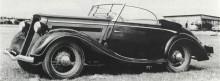 Ford Eifel cabriolet från Gläser 1937