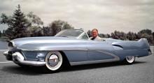 Le Sabre 1951, jetåldern på hjul, detta var udner en period även Harleys privata bil.