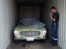 Volvo 1800S 1967 längst in i burken