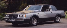 Den turbomatade Buick Regal T-type Grand National 1982, 16 stycken byggda