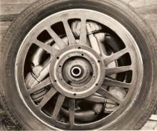 Motor,svänghjul,drivhjul allt i ett