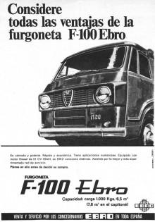 Ebro F100 reklam från 1969