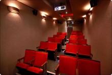 biosalen idag, 22 sittplatser.