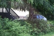 Honda accord gömmer sig i Katrineholm