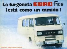 En senare Ebro F108 från början av 1980-talet