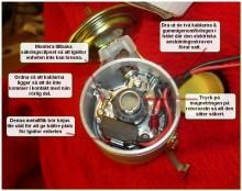 den smarta ignitorn, lättmonterad och sen behöver man inte lyfta på fördelarlocket något mera.