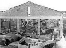 efter branden den 23:e juli 1949