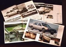 Pressen var positiv - uppslag från Teknikens Värld, Bilsport och Automobil 1982.