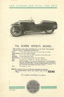 annons från 1932.