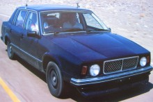 """Denna tingest är en """"mula"""" rullande testbänk för 760, de första kom ut på vägarna redan 1978"""