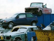 Undrar vad denna ros Range Rover levde för liv innan den hamnade här?