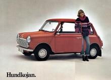 Mini ur svenska Leylands program 1977, denna bil finns ännu i registret!