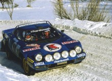 Monte Carlorallyt 1978 körde hon Lancia Stratos