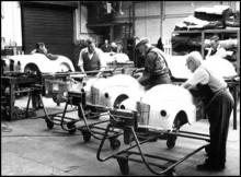 tillverkningen i Bargoed, Wales.