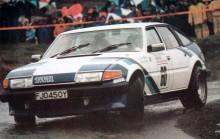 Rovern var en stor framgång i banracing, men i rally däremot gick aldrig något vidare. Här är Tony Pond i manx-rallyt 1983.