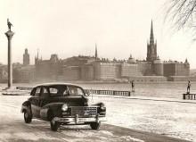 Sökarlykta och grova vinterdäck, men inga taxiskyltar.