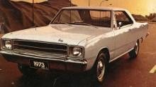 Den vanliga Dodge Dart De Luxo 1973.