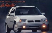 1989 Pontiac LeMans GSEm som är en Daewoo Cielo som är en Kadett...